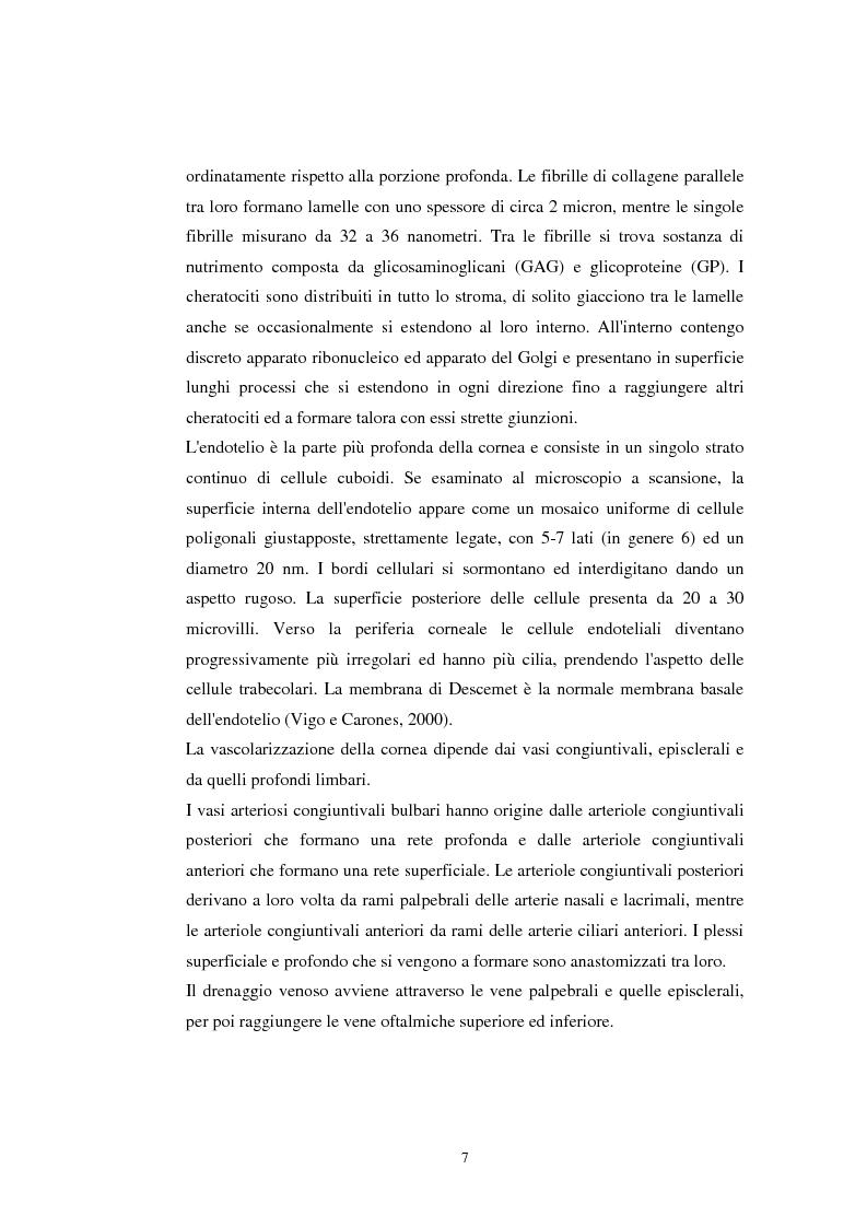 Anteprima della tesi: Lasik nel trattamento dell'ipermetropia. Aspetti clinici e medico-legali, Pagina 5