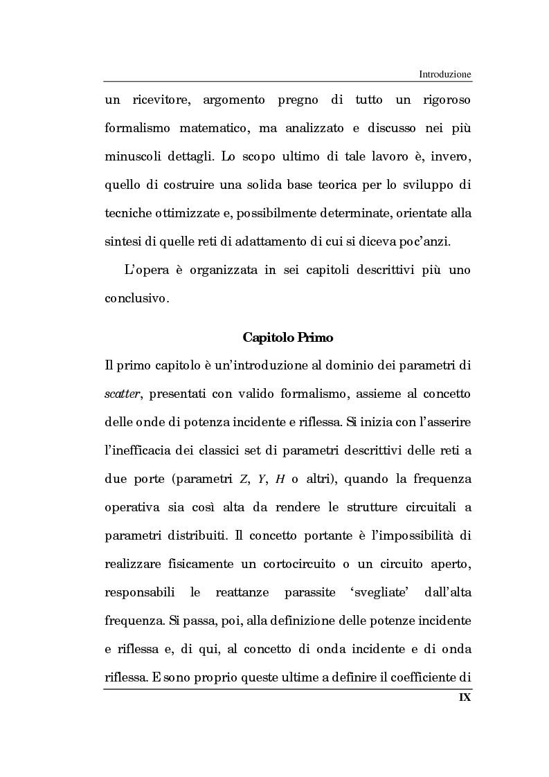 Anteprima della tesi: Un approccio CAD alla progettazione di sistemi amplificatori a microonde a basso rumore a stato solido nelle bande X, K, Pagina 4