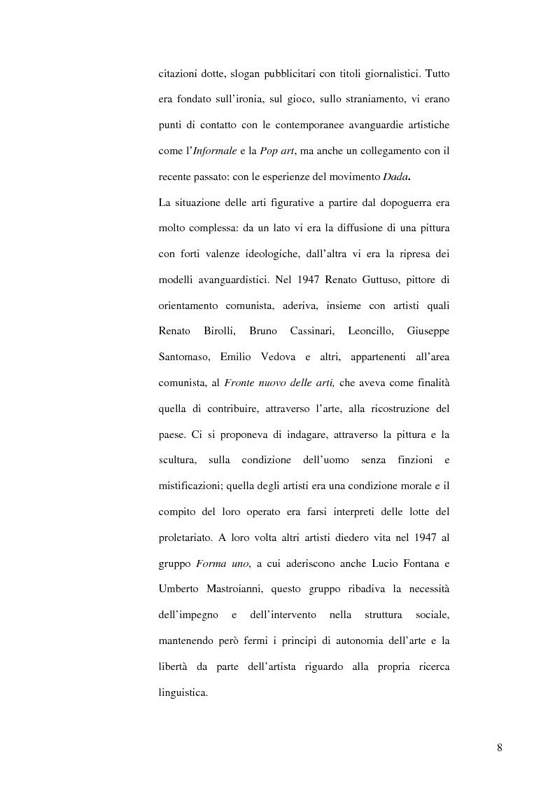 Anteprima della tesi: Il dibattito museologico dal dopoguerra agli anni sessanta e i suoi esiti nella cultura legislativa, Pagina 7