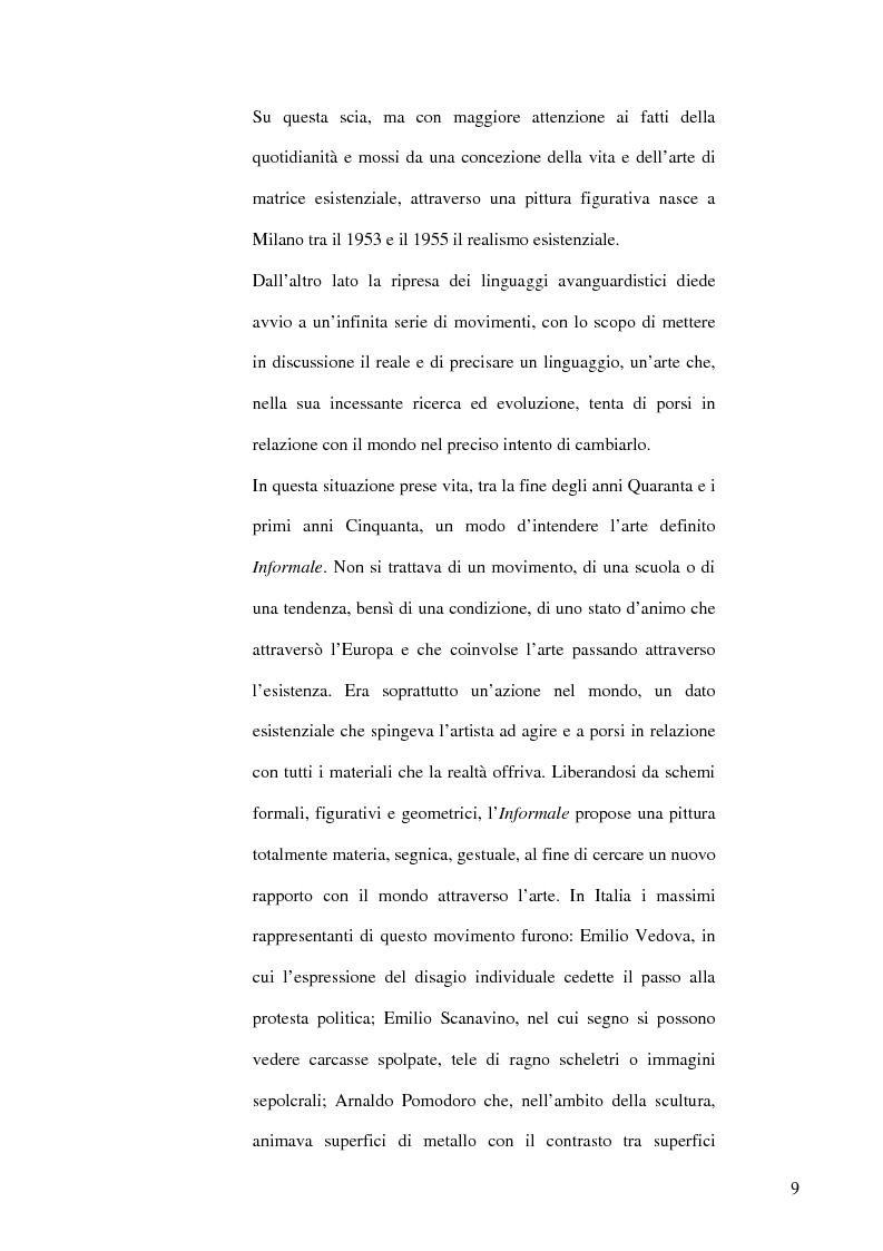 Anteprima della tesi: Il dibattito museologico dal dopoguerra agli anni sessanta e i suoi esiti nella cultura legislativa, Pagina 8