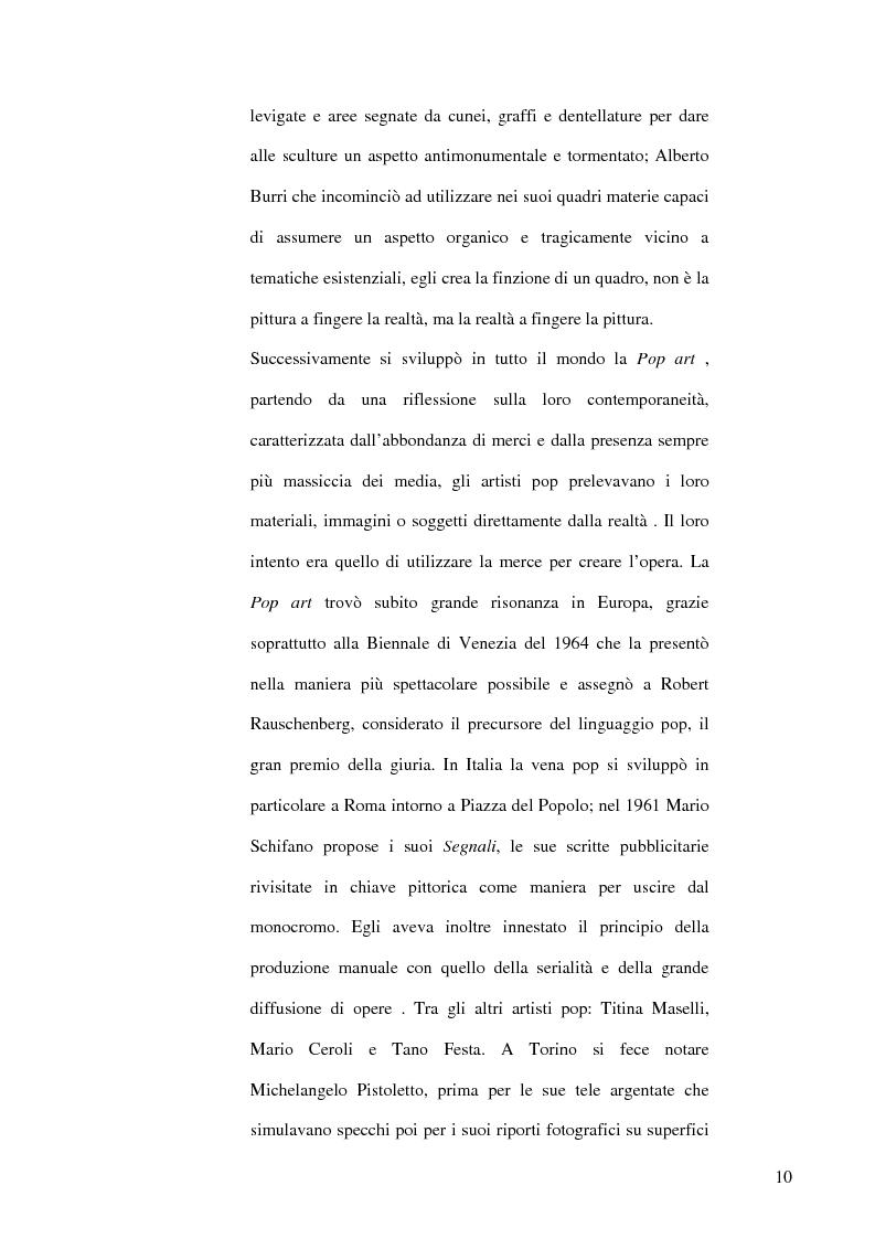 Anteprima della tesi: Il dibattito museologico dal dopoguerra agli anni sessanta e i suoi esiti nella cultura legislativa, Pagina 9
