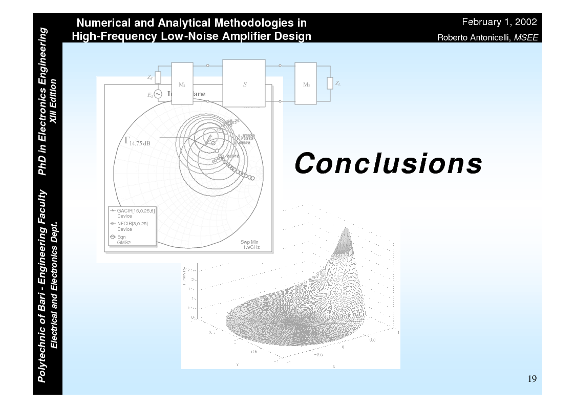 Anteprima della tesi: Numerical and Analytical Methodologies in High-Frequency Low-Noise Amplifier Design, Pagina 19