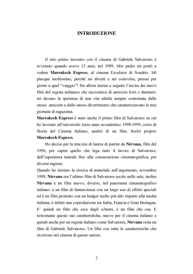 Anteprima della tesi: Nirvana un film di Gabriele Salvatores, Pagina 1