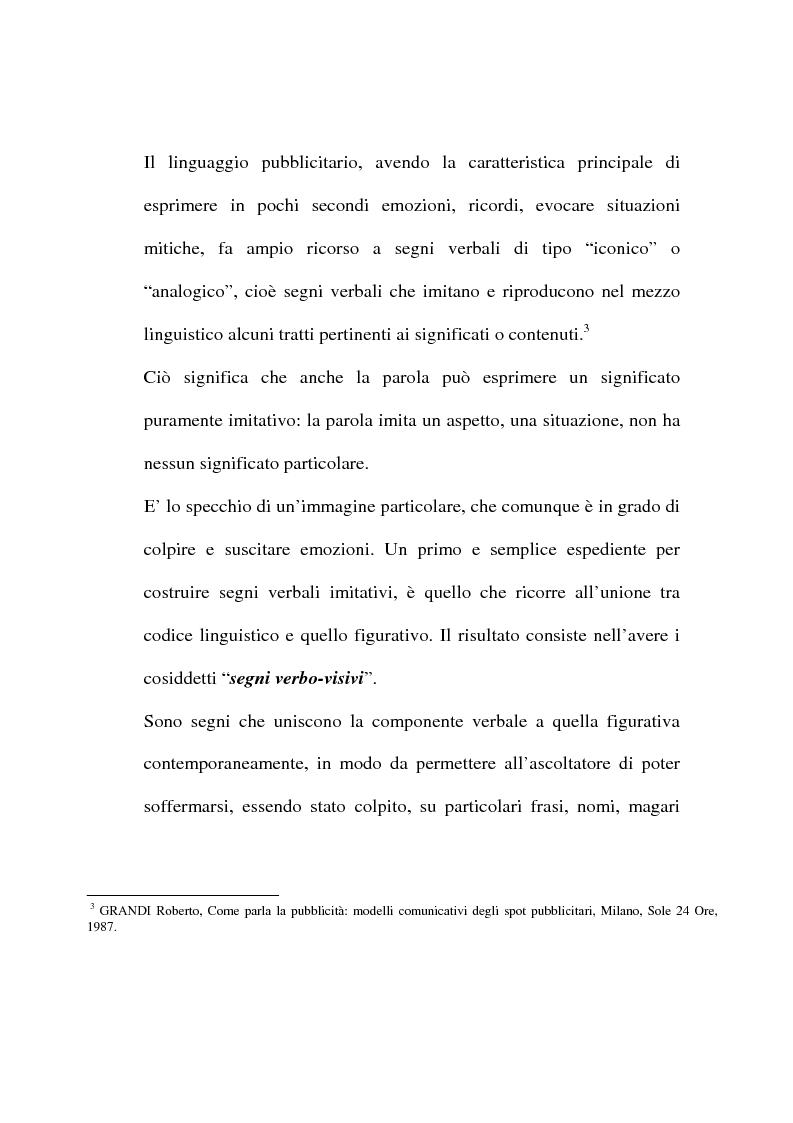 Anteprima della tesi: L'evoluzione del linguaggio pubblicitario della Barilla (dal 1910 al 2001), Pagina 13