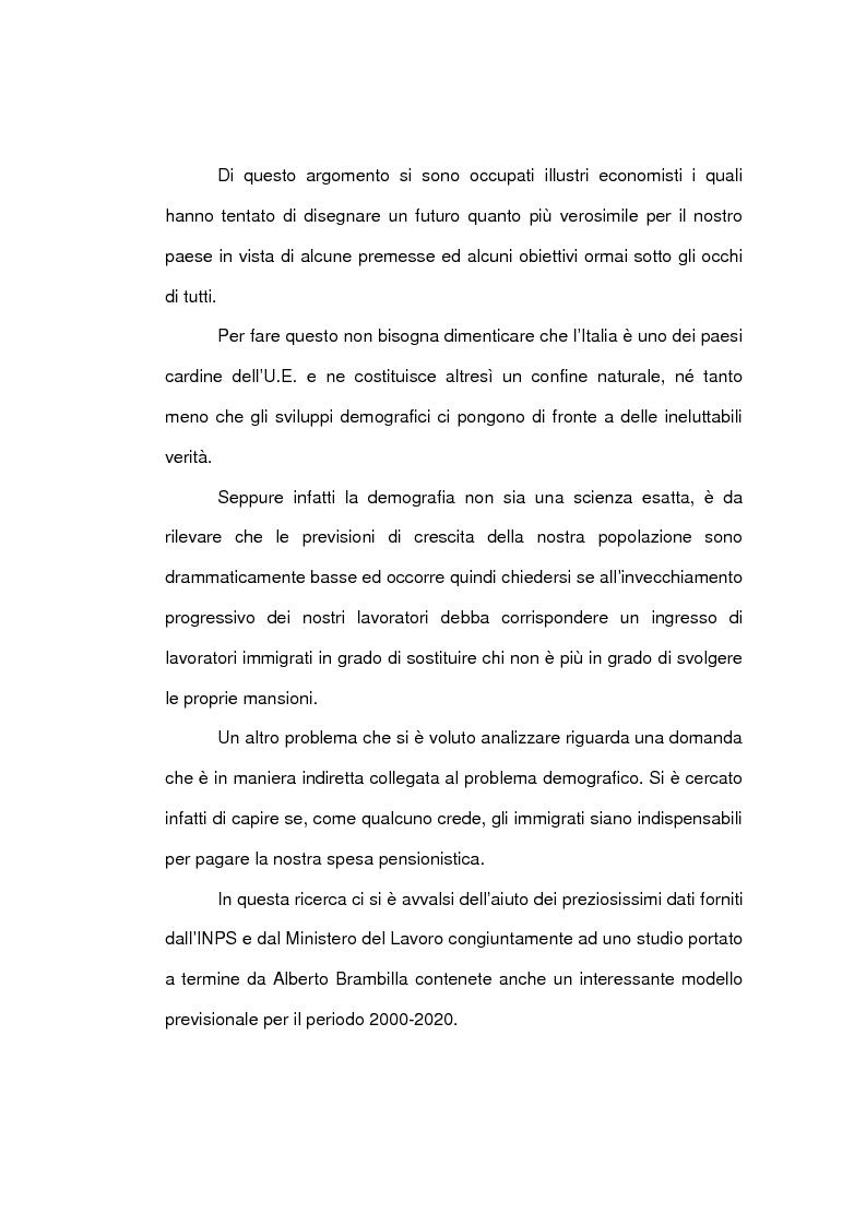 Anteprima della tesi: Aspetti economici dell'immigrazione, Pagina 4