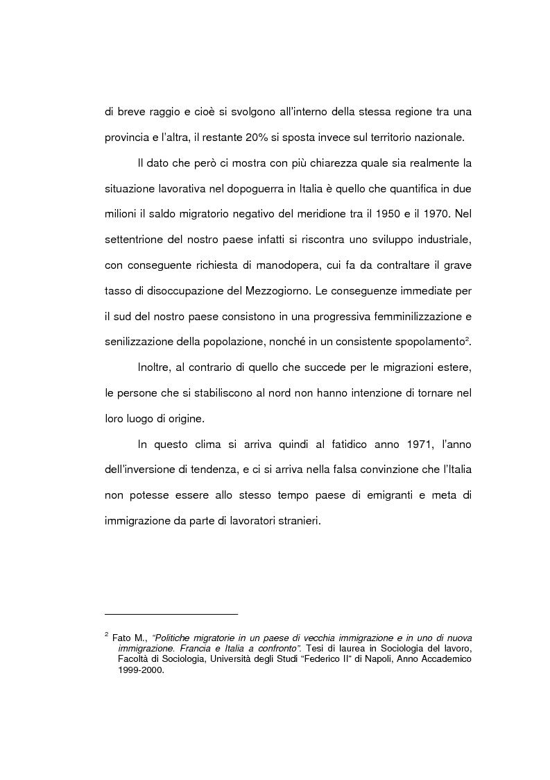 Anteprima della tesi: Aspetti economici dell'immigrazione, Pagina 8