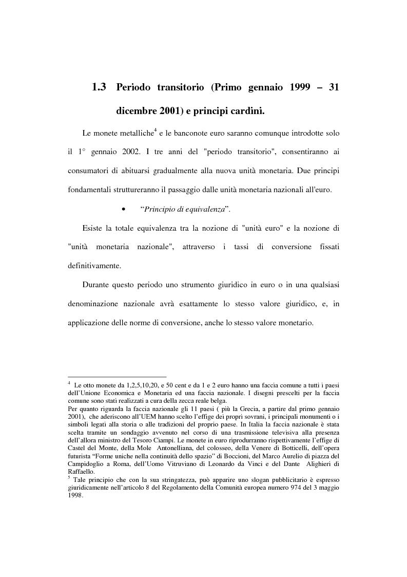 Anteprima della tesi: L'euro e i cittadini: aspettative e timori, Pagina 15