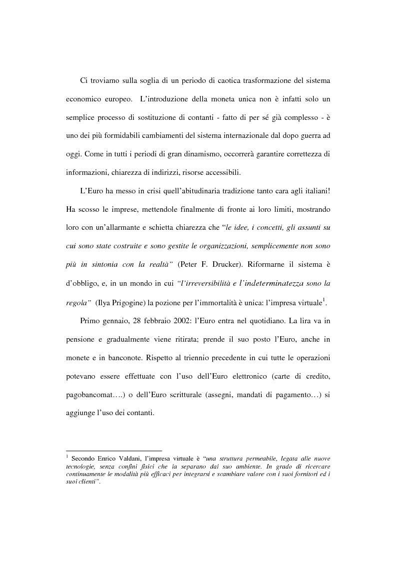 Anteprima della tesi: L'euro e i cittadini: aspettative e timori, Pagina 3