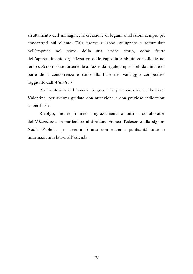 Anteprima della tesi: L'evoluzione della figura del tour operator: processi di concentrazione e specializzazione, Pagina 4