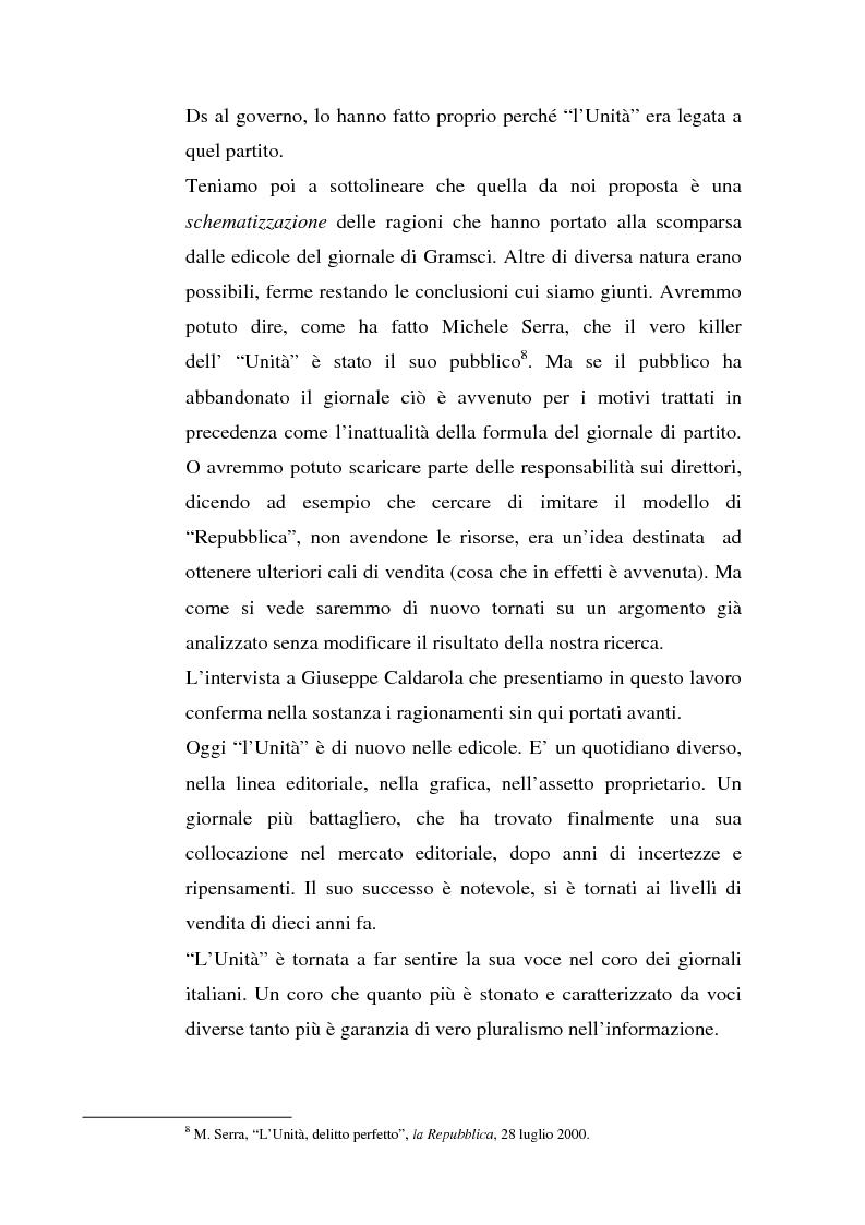 Anteprima della tesi: ''L'Unità'' dal 1990 al 2000. Il perché di una crisi, Pagina 13