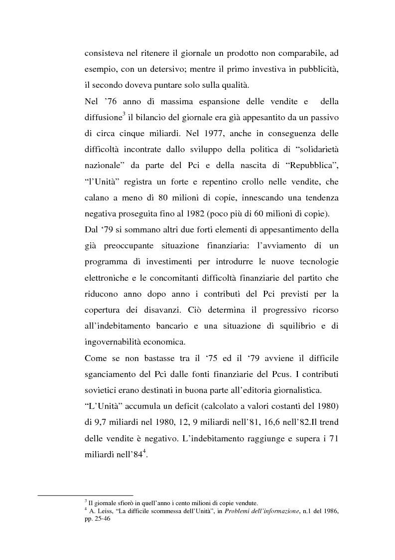 Anteprima della tesi: ''L'Unità'' dal 1990 al 2000. Il perché di una crisi, Pagina 8