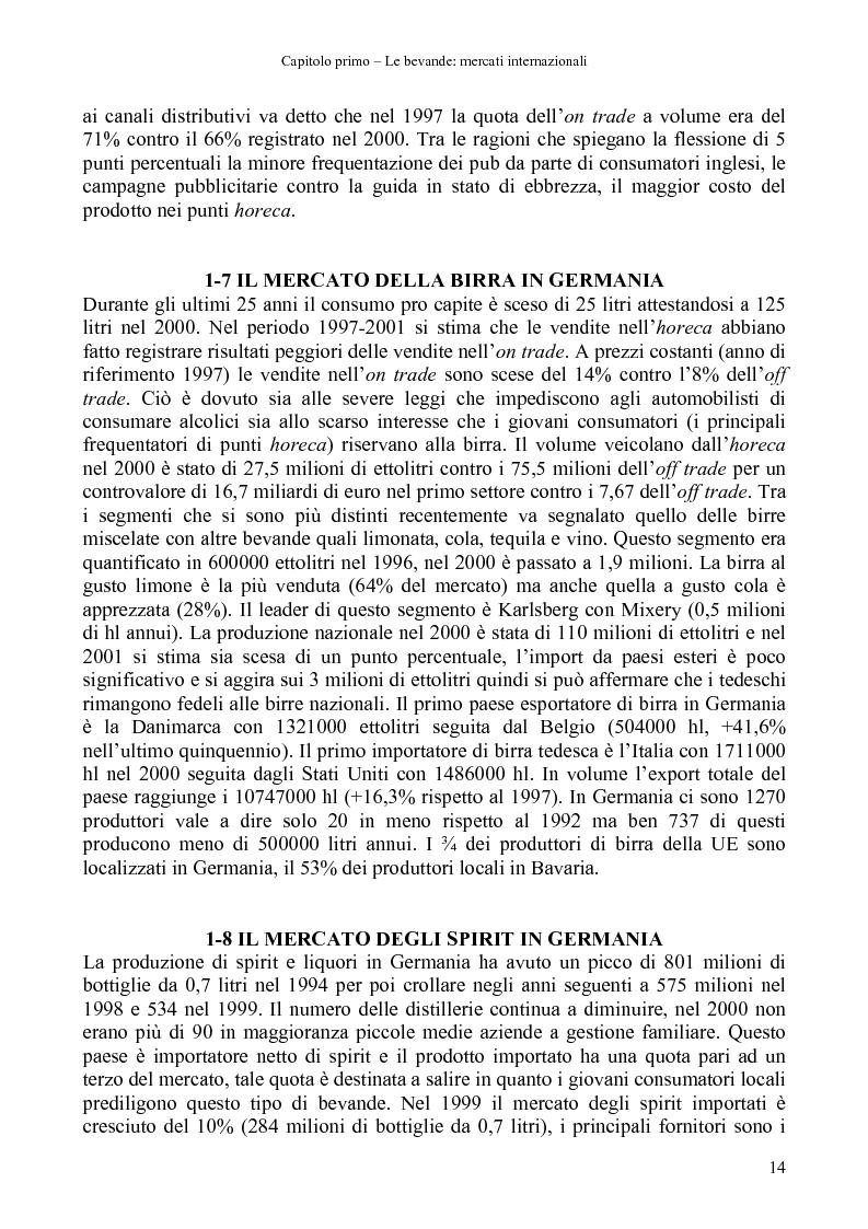 Anteprima della tesi: La distribuzione di bevande in Polonia, Pagina 12