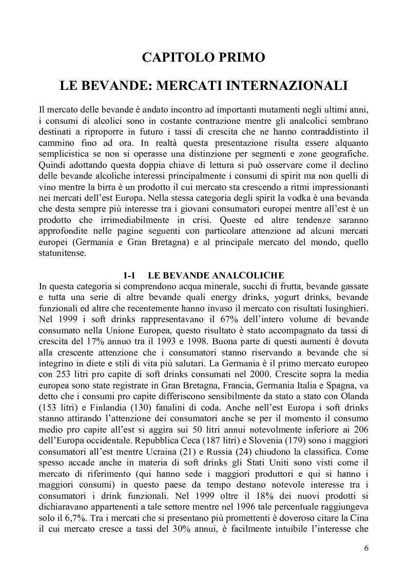 Anteprima della tesi: La distribuzione di bevande in Polonia, Pagina 4
