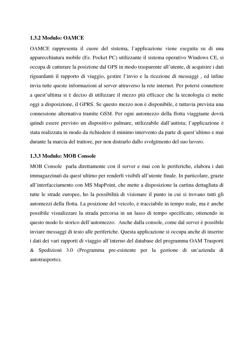 Anteprima della tesi: Condivisione di dati tra stazioni fisse ed apparecchiature mobili, Pagina 5