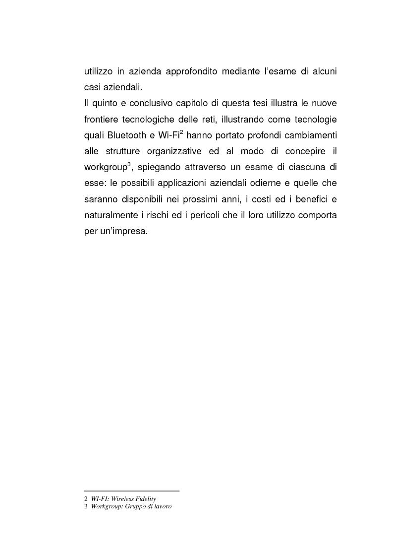 Anteprima della tesi: Riflessi dell'evoluzione dei modelli di networking nelle organizzazioni, Pagina 6