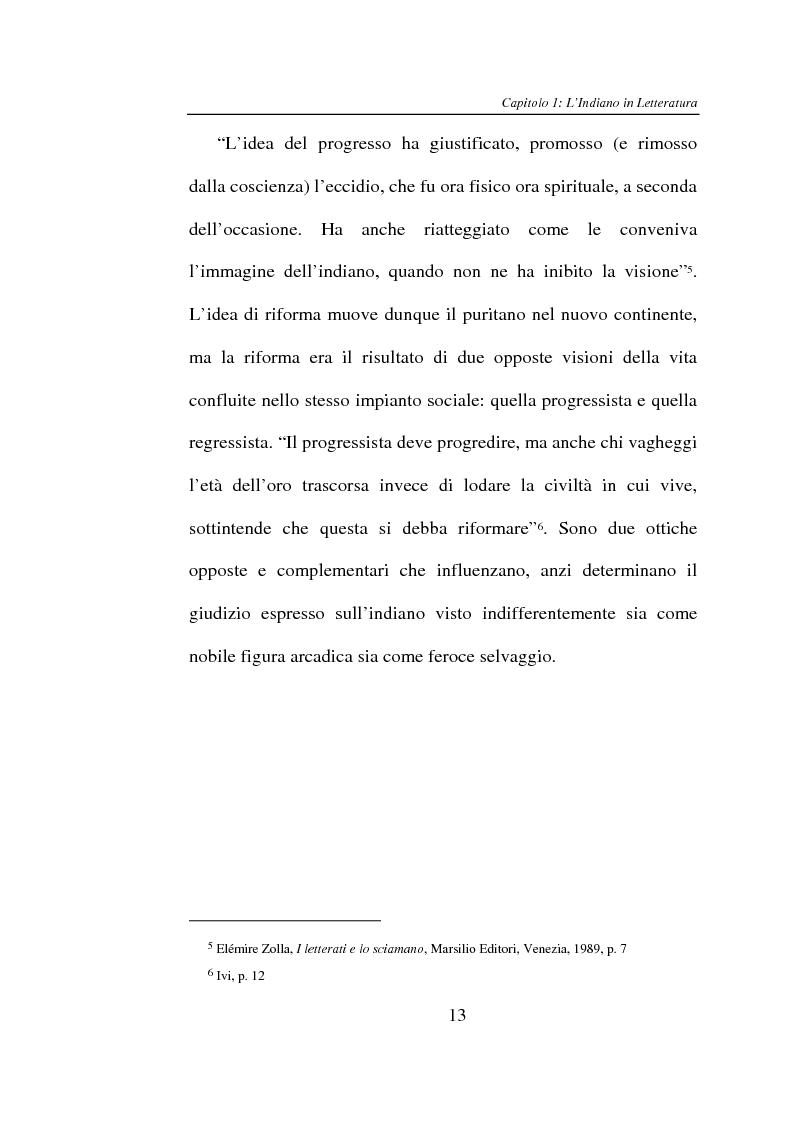 Anteprima della tesi: L'Indiano d'America tra letteratura e cinema, Pagina 13