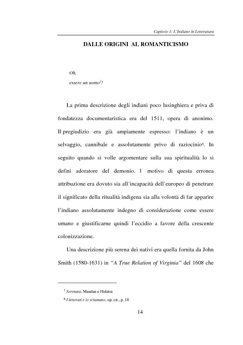 Anteprima della tesi: L'Indiano d'America tra letteratura e cinema, Pagina 14