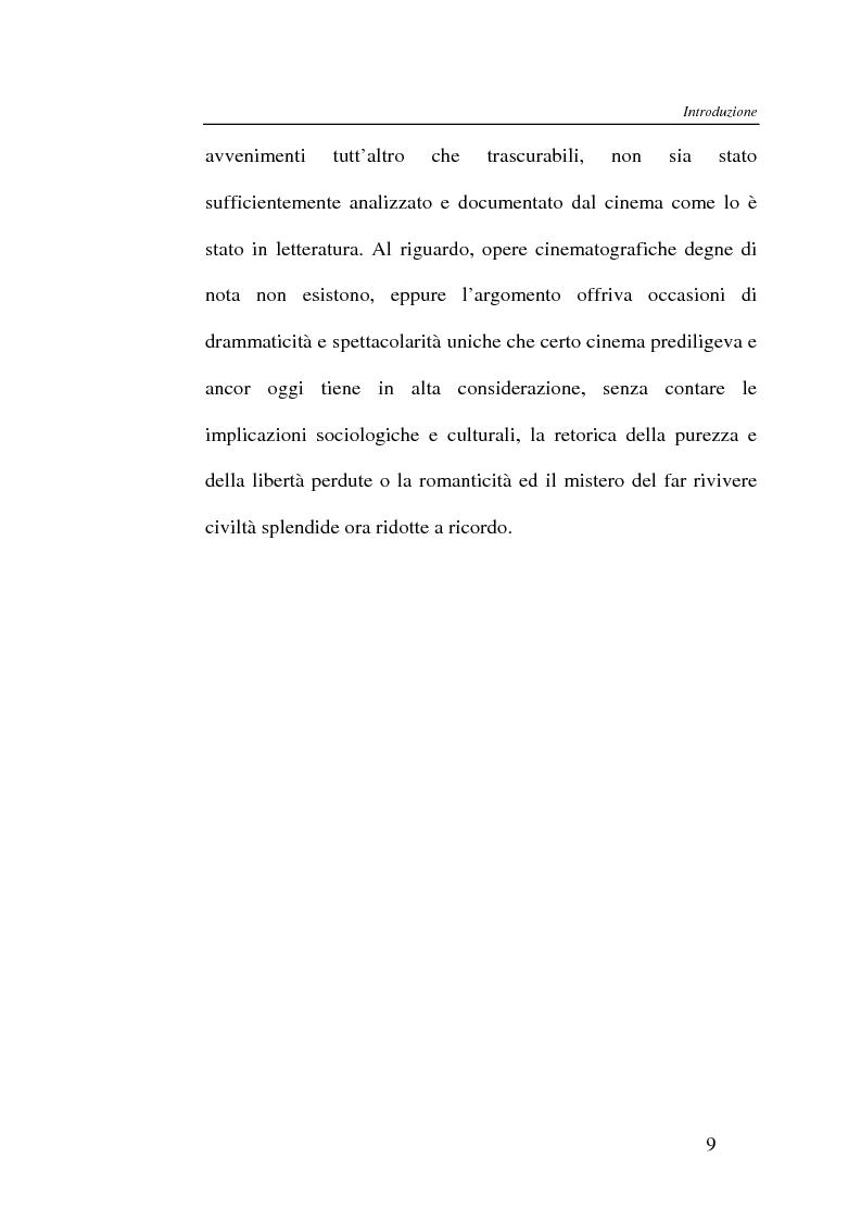 Anteprima della tesi: L'Indiano d'America tra letteratura e cinema, Pagina 9