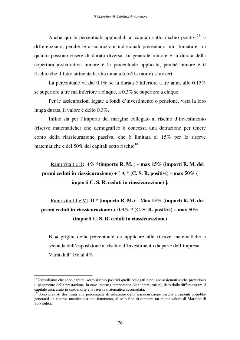 Anteprima della tesi: Il margine di solvibilità ed il risk based capital nel controllo della solvibilità delle imprese di assicurazione, Pagina 11