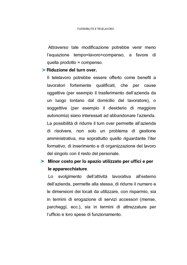 Anteprima della tesi: Il posto di lavoro flessibile: il telelavoro, Pagina 12
