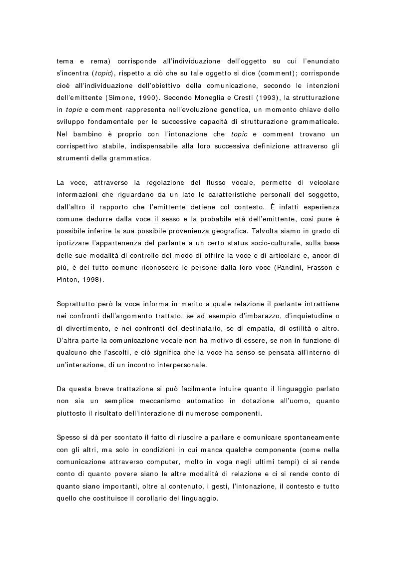Anteprima della tesi: L'Mlu nel parlato del bambino, Pagina 10