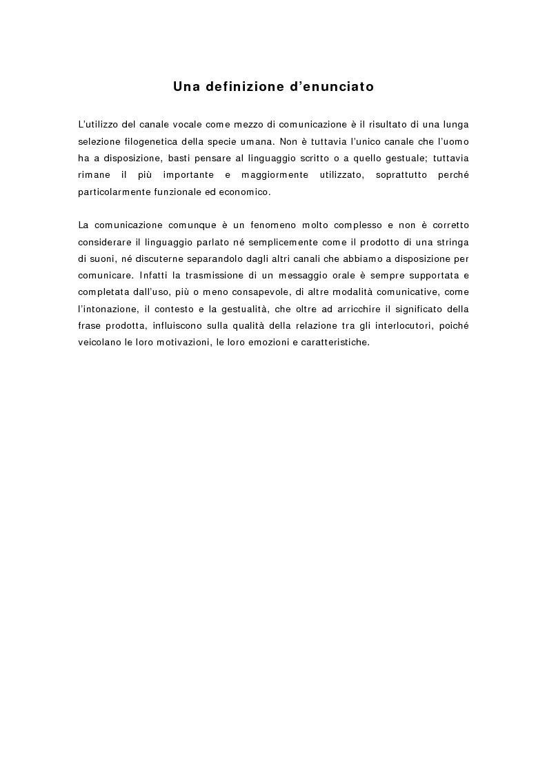 Anteprima della tesi: L'Mlu nel parlato del bambino, Pagina 2
