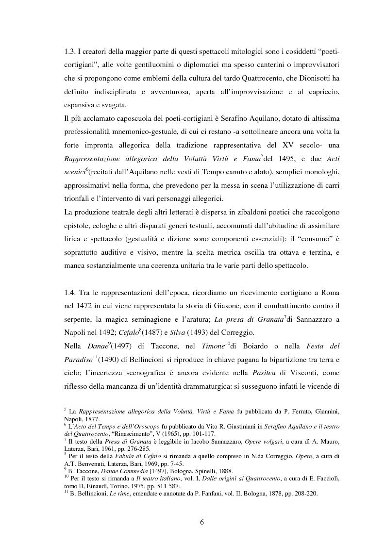 Anteprima della tesi: Metamorfosi dell'arcadia: edizioni e rappresentazioni del sacrificio di Agostino Beccari, Pagina 3