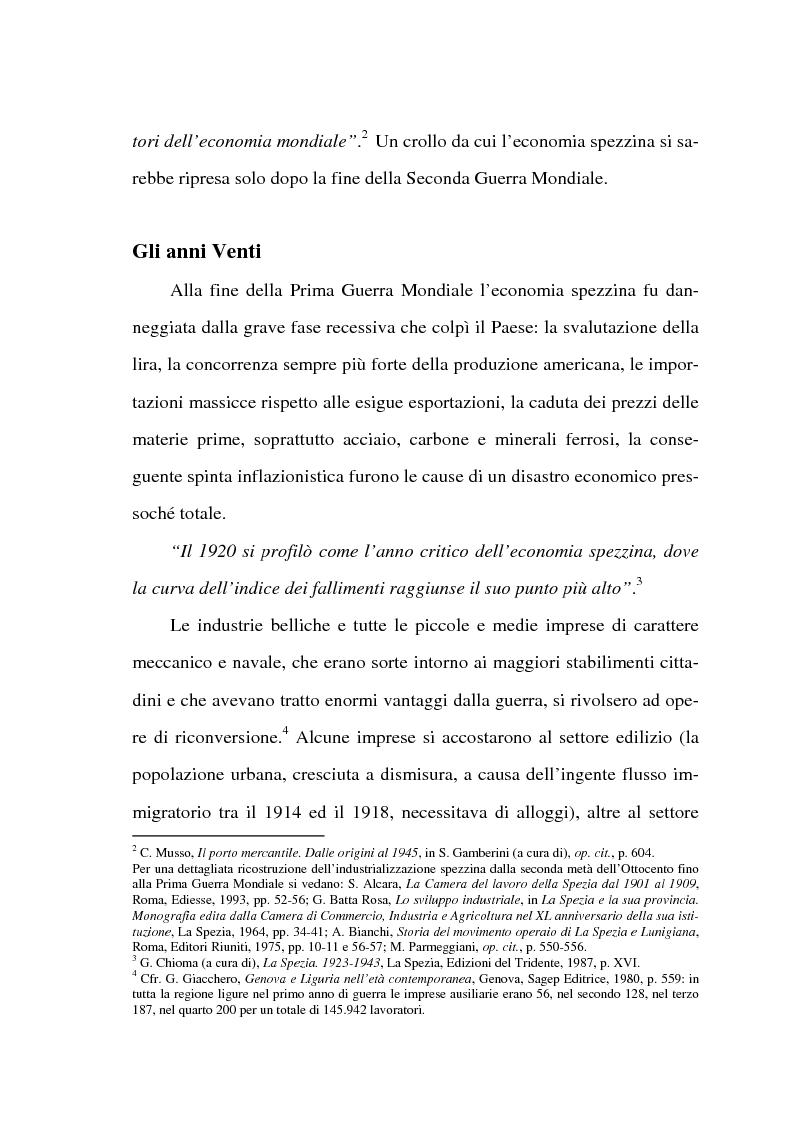 Anteprima della tesi: Resistenza e classe operaia a La Spezia, Pagina 2