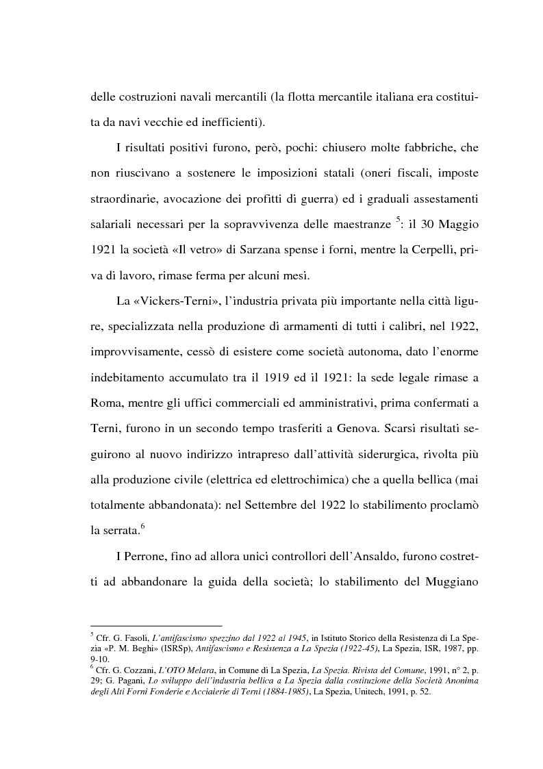 Anteprima della tesi: Resistenza e classe operaia a La Spezia, Pagina 3