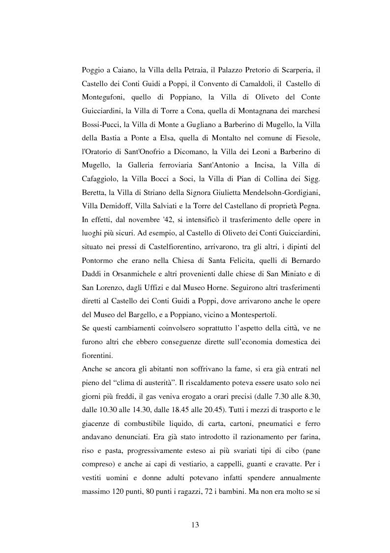 Anteprima della tesi: Vita quotidiana a Firenze nei mesi della Repubblica Sociale Italiana, Pagina 10