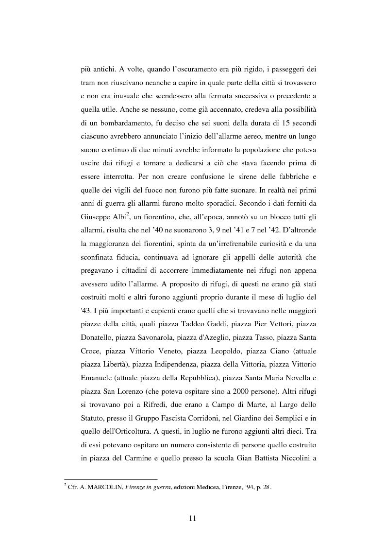 Anteprima della tesi: Vita quotidiana a Firenze nei mesi della Repubblica Sociale Italiana, Pagina 8