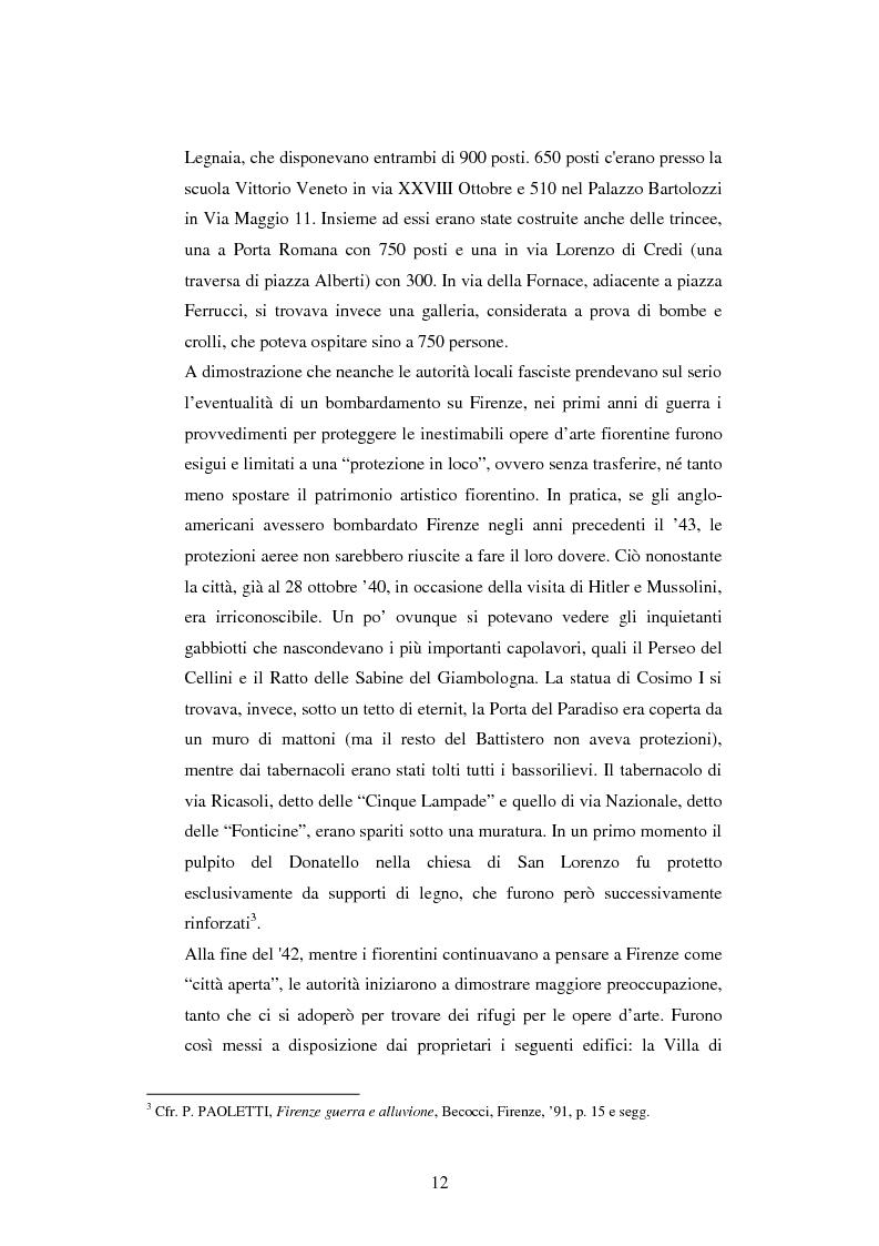 Anteprima della tesi: Vita quotidiana a Firenze nei mesi della Repubblica Sociale Italiana, Pagina 9