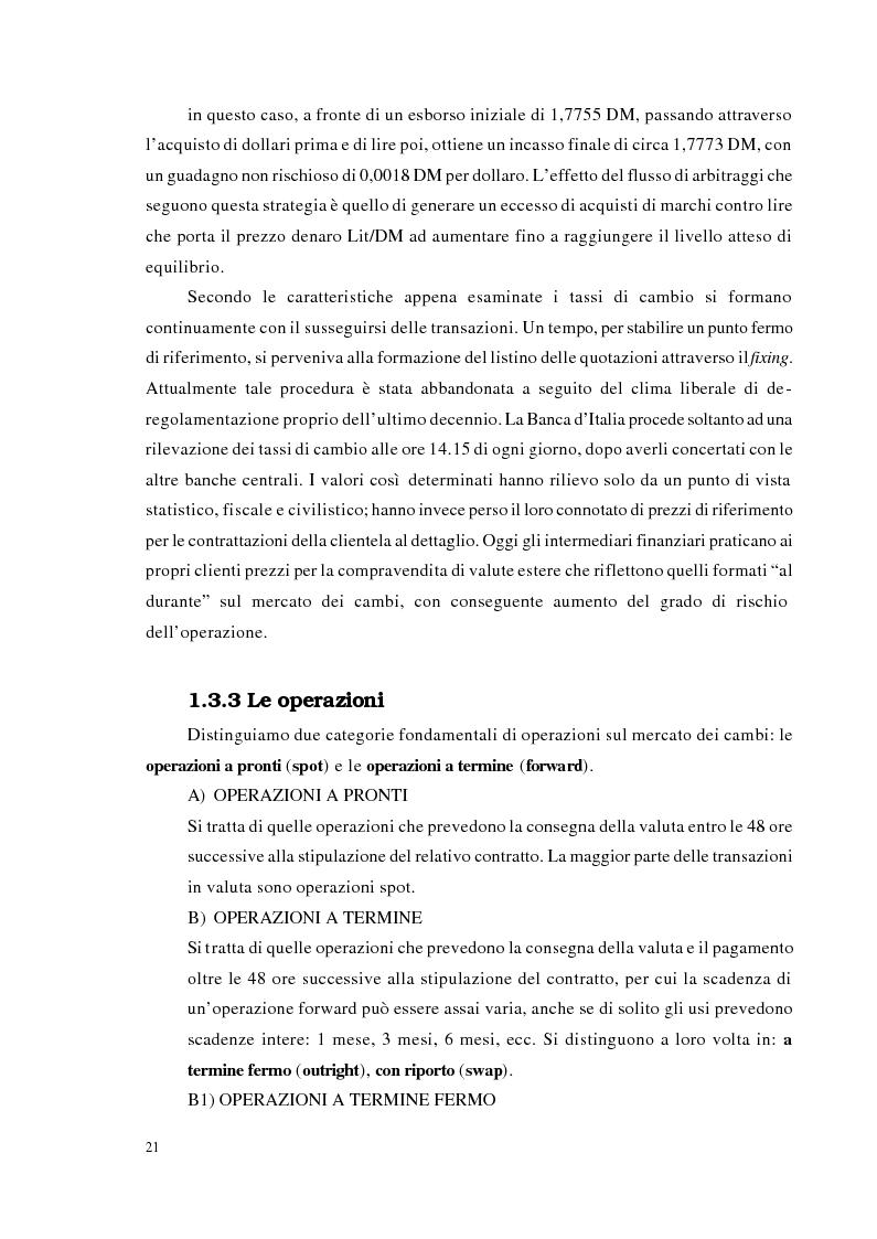 Anteprima della tesi: Strategie di trading per la gestione di portafogli valutari, Pagina 14