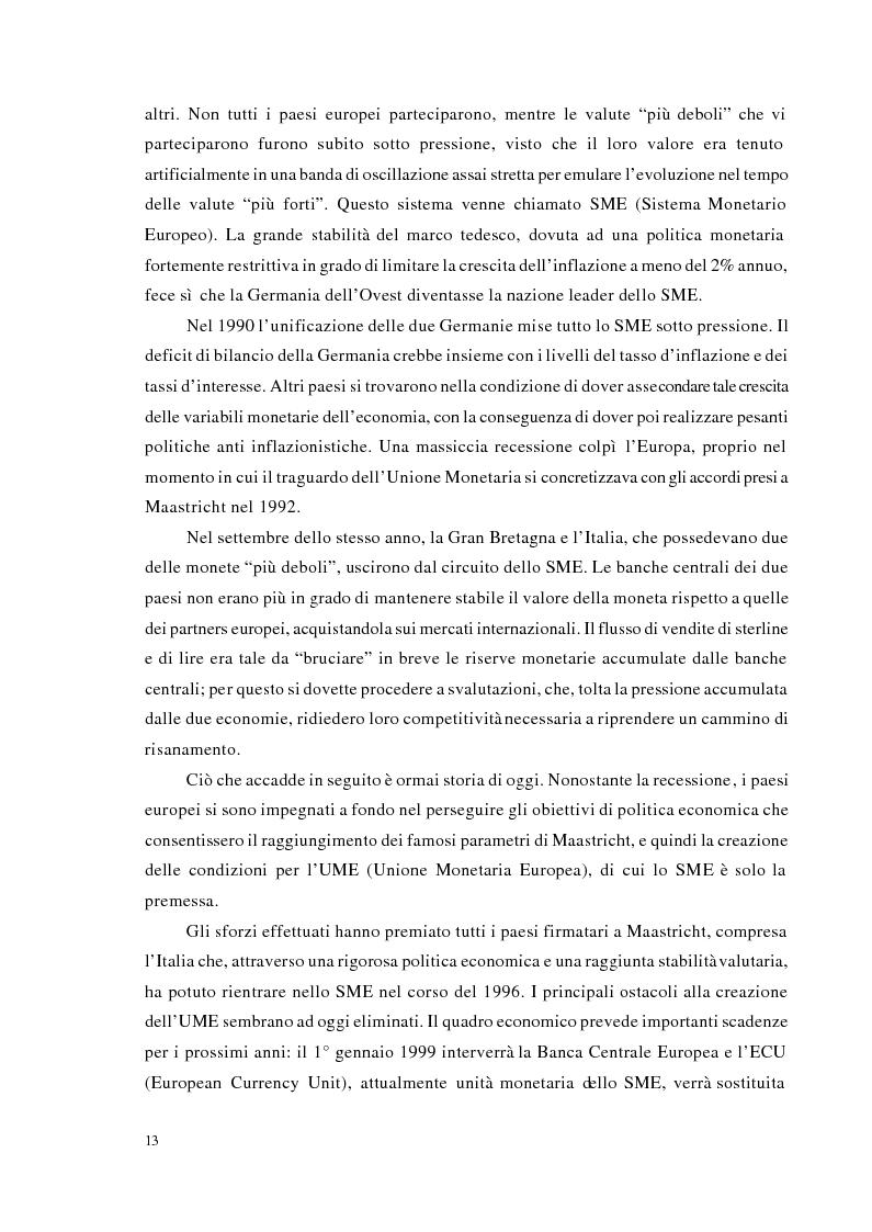 Anteprima della tesi: Strategie di trading per la gestione di portafogli valutari, Pagina 6