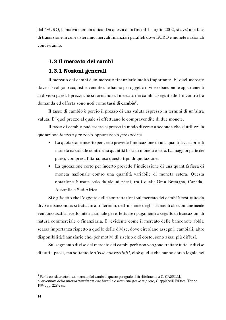 Anteprima della tesi: Strategie di trading per la gestione di portafogli valutari, Pagina 7