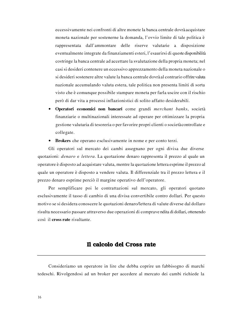 Anteprima della tesi: Strategie di trading per la gestione di portafogli valutari, Pagina 9