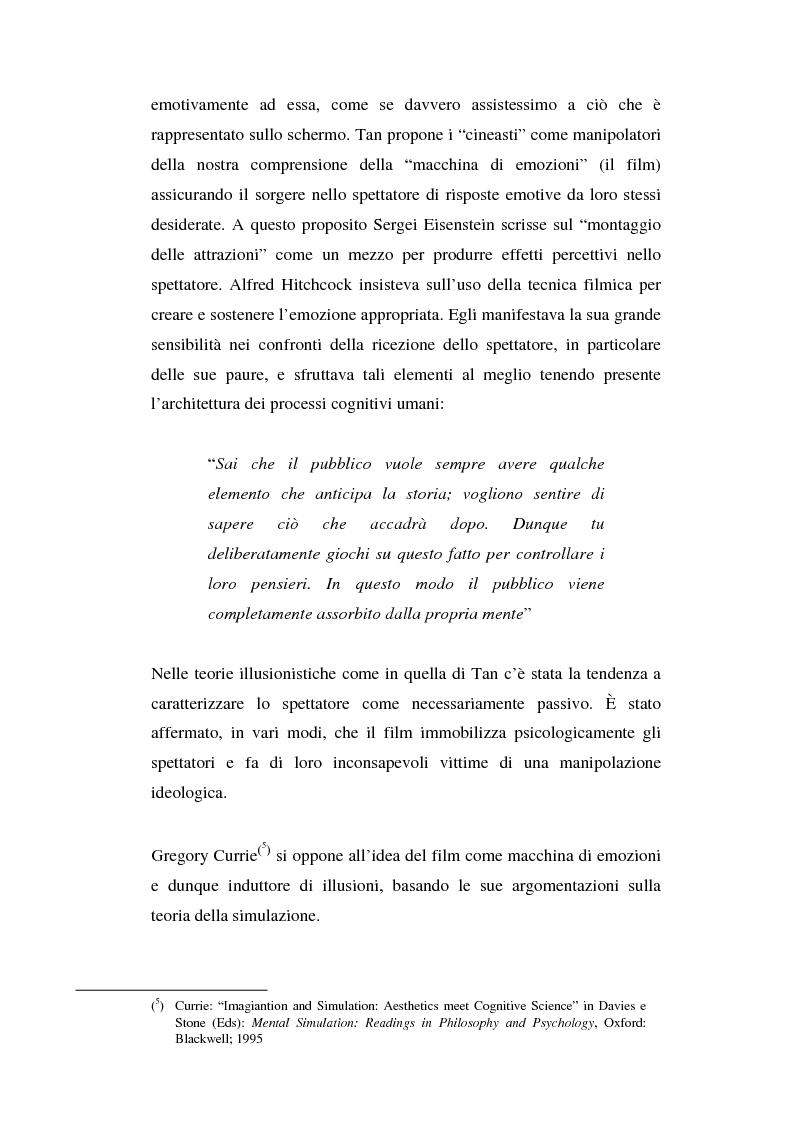 Anteprima della tesi: Empatia, pianto empatico e commozione: natura e processi della condivisione emotiva dalla vita reale alla sala cinematografica, Pagina 4