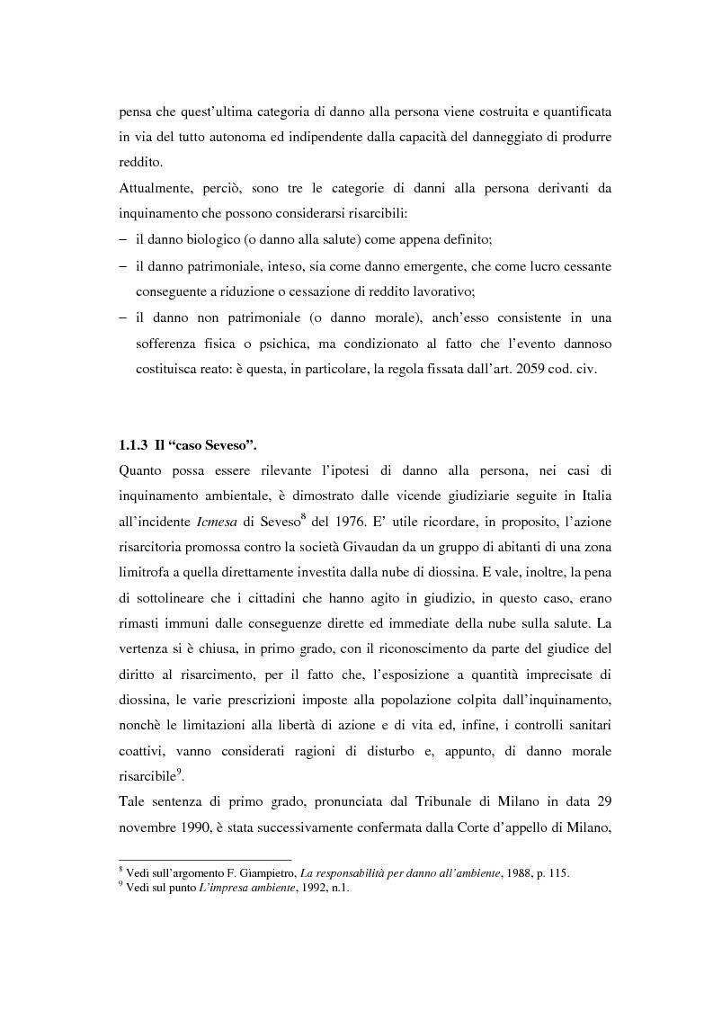Anteprima della tesi: Il danno ambientale: sistemi di valutazione metodi di ripristino, Pagina 11