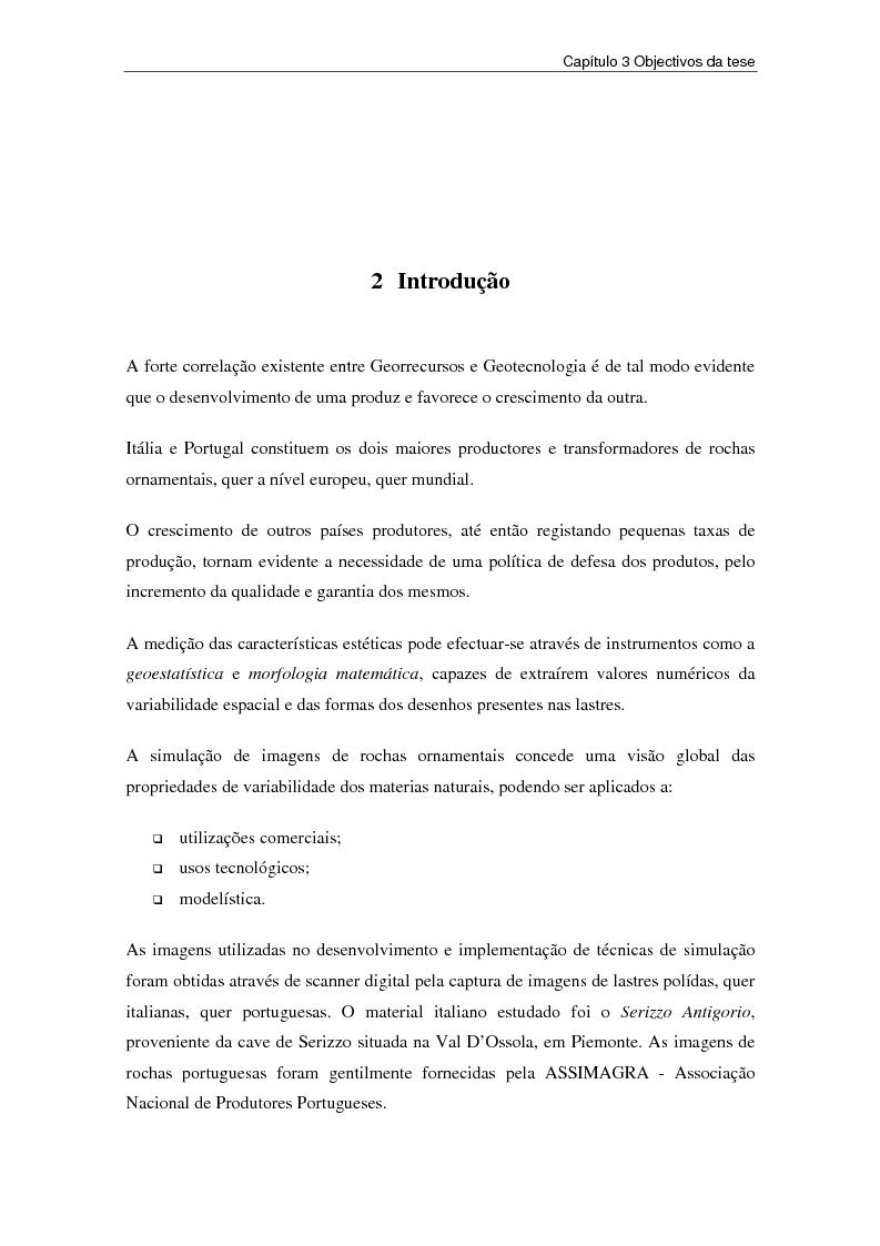 Anteprima della tesi: Nuovi strumenti per la valorizzazione estetica delle rocce ornamentali, Pagina 15