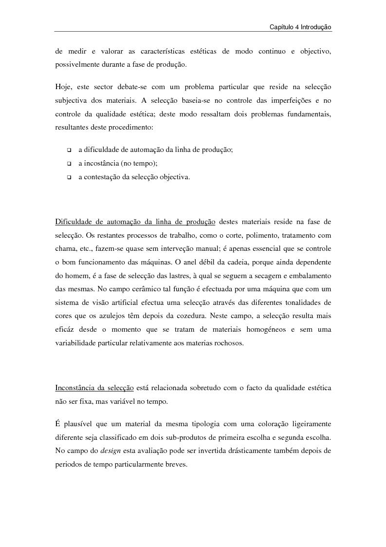 Anteprima della tesi: Nuovi strumenti per la valorizzazione estetica delle rocce ornamentali, Pagina 18