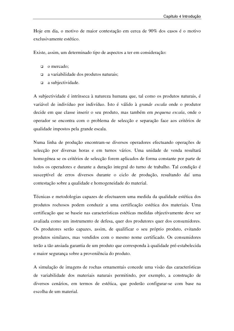Anteprima della tesi: Nuovi strumenti per la valorizzazione estetica delle rocce ornamentali, Pagina 20