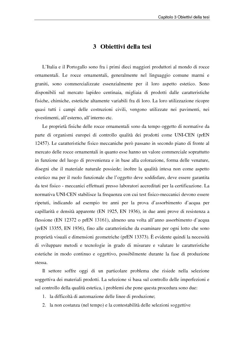 Anteprima della tesi: Nuovi strumenti per la valorizzazione estetica delle rocce ornamentali, Pagina 5