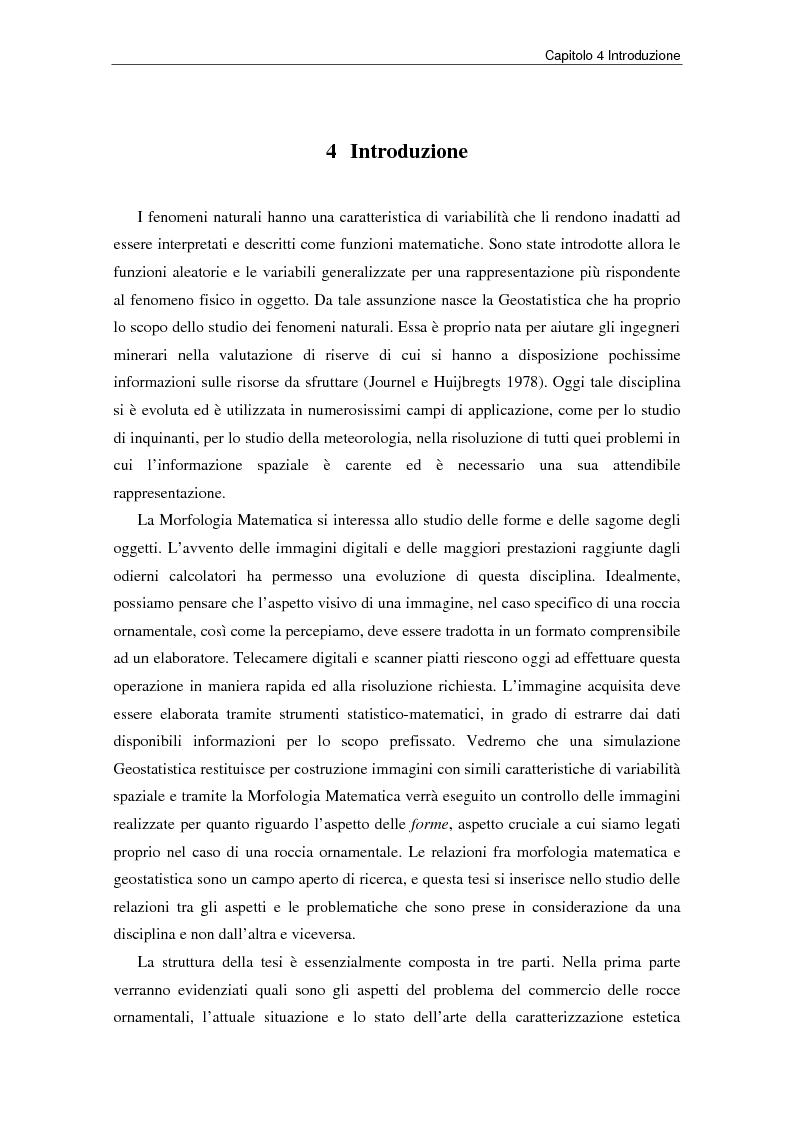 Anteprima della tesi: Nuovi strumenti per la valorizzazione estetica delle rocce ornamentali, Pagina 9