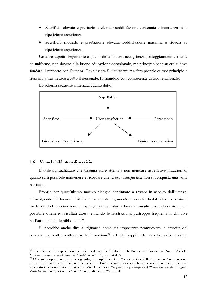 Anteprima della tesi: Materiali biblioteconomici per la nuova biblioteca universitaria di Genova. Avvio di un'indagine, Pagina 9