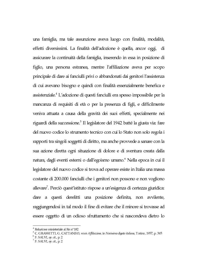 Anteprima della tesi: L'affidamento familiare: l'esperienza della comunità di Nomadelfia, Pagina 7