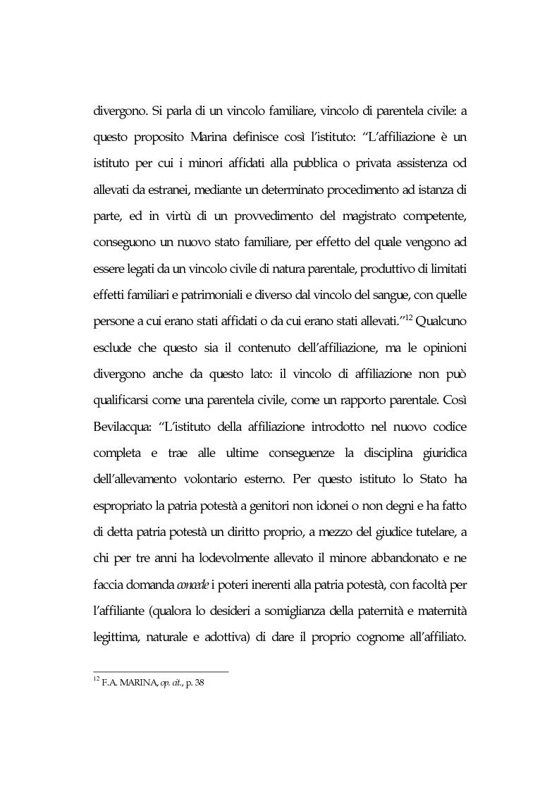Anteprima della tesi: L'affidamento familiare: l'esperienza della comunità di Nomadelfia, Pagina 9