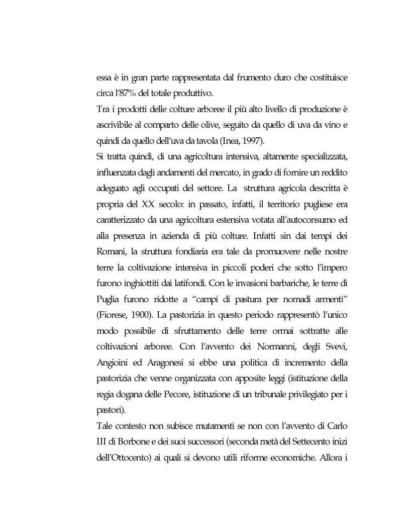 Anteprima della tesi: Vecchie strutture e nuove funzioni per uno sviluppo autocentrato: le masserie di Ostuni (Br), Pagina 9