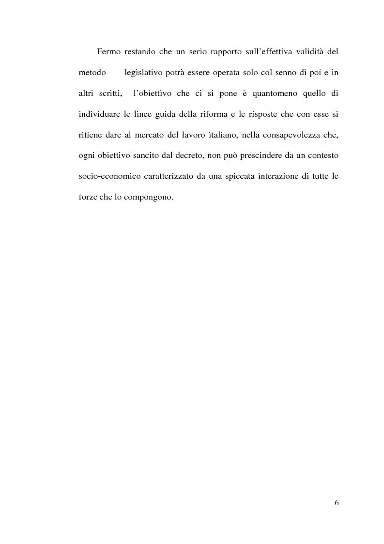 Anteprima della tesi: La disciplina del lavoro a tempo parziale: il d. lgs. n. 61 del 2000, Pagina 5