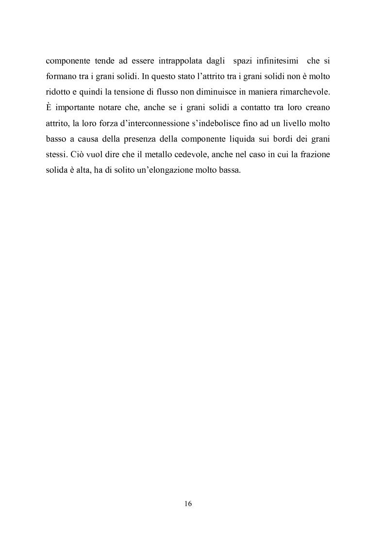 Anteprima della tesi: Procedimenti di tixoformatura di leghe metalliche per componenti automobilistici, Pagina 15