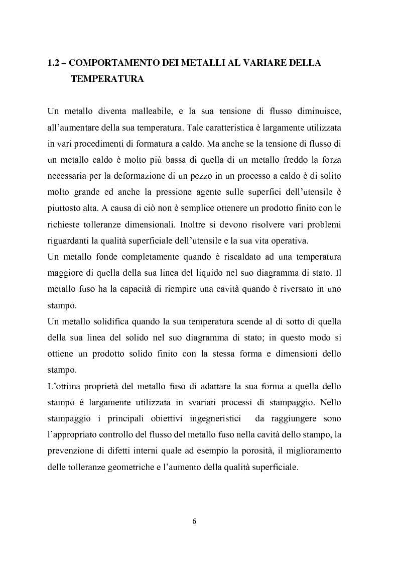 Anteprima della tesi: Procedimenti di tixoformatura di leghe metalliche per componenti automobilistici, Pagina 5